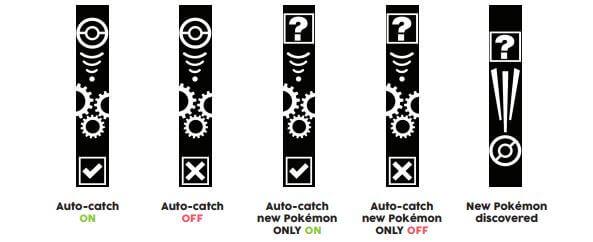 Captura automática de Pokemons